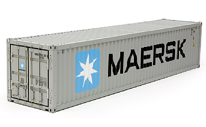 56516 Tamiya Maersk 40ft Container for 1/14 Semi Trailer