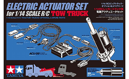 56553 Tamiya Actuator Set for Tow Truck