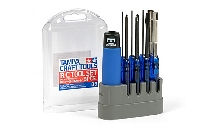 74085 Tamiya R/C Tool 8 Piece Set