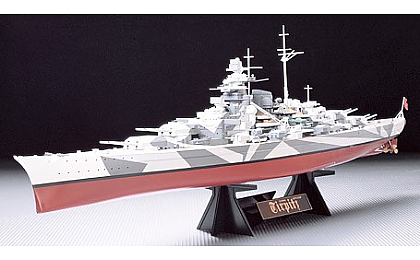 78015 Tamiya German Battleship Tirpitz
